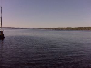 Sebago Lake from the Causeway