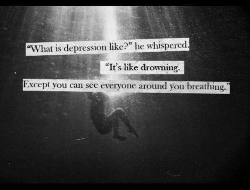 What's depression feel like?